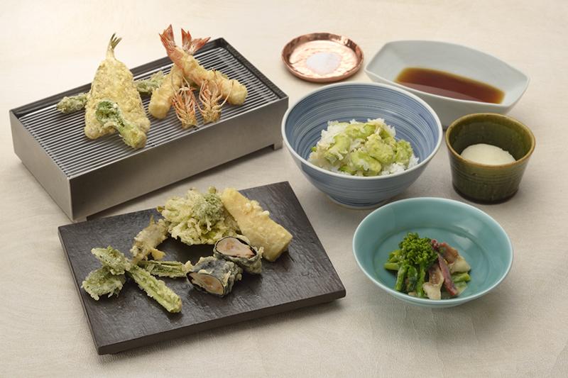 3月1日~「春のおすすめランチコース」一日限定10食。¥13,200(税込)
