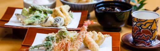 特選天ぷら定食
