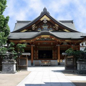 関東三大天神のひとつ 『湯島天神』